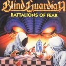 BLIND GUARDIAN battalions of fear MINI VINYL CD 1988 POWER METAL