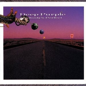 DEEP PURPLE nobody's perfect CD 1988 HARD ROCK**
