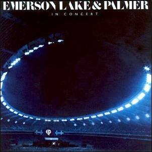 EMERSON LAKE AND PALMER in concert CD 1979 PROGRESSIVE ROCK**