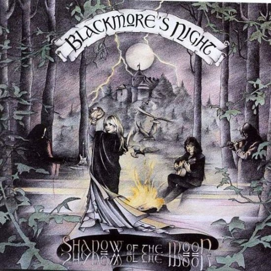 BLACKMORE'S NIGHT shadow of the moon CD 1997 TRADITIONAL FOLK MUSIC