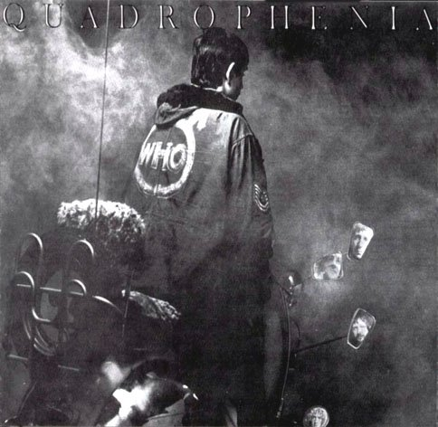 THE WHO quadrophenia MINI VINYL CD 1973 ROCK