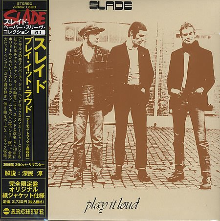 SLADE play it loud MINI VINYL CD 1970 GLAM ROCK