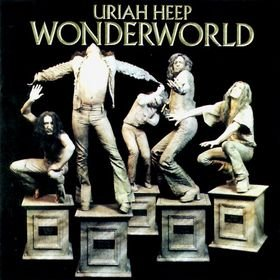 URIAH HEEP wonderworld MINI VINYL CD 1973 HARD ROCK