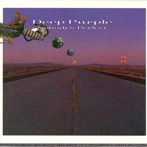 DEEP PURPLE nobody's perfect MINI VINYL CD 1988 HARD ROCK