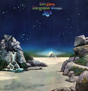 YES tales from topographic oceans CD 1973 PROGRESSIVE ROCK