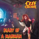 OZZY OSBOURNE diary of a madman MINI VINYL CD 1981 HEAVY METAL