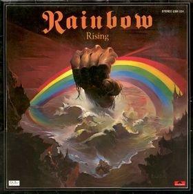 RAINBOW rising MINI VINYL CD 1976 HARD ROCK