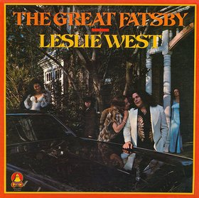 LESLIE WEST the great fatsby MINI VINYL CD 1975 HARD ROCK