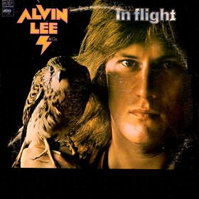 ALVIN LEE in flight MINI VINYL CD 1974 ROCK