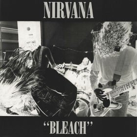 NIRVANA bleach MINI VINYL CD 1989 GRUNGE