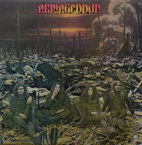 ARMAGEDDON armageddon MINI VINYL CD 1975 HARD ROCK