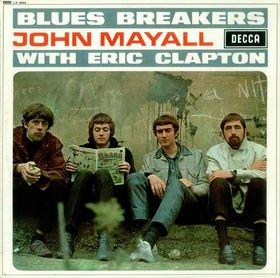JOHN MAYALL blues breakers with eric clapton MINI VINYL CD 1966 BLUES ROCK
