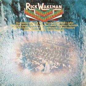 RICK WAKEMAN journey to the centre of the earth MINI VINYL CD 1974 PROGRESSIVE ROCK
