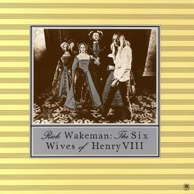 RICK WAKEMAN the six wives opf henry VIII MINI VINYL CD 1973 PROGRESSIVE ROCK