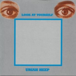 URIAH HEEP look at yourself MINI VINYL CD 1971 HARD ROCK