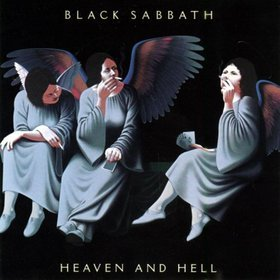 BLACK SABBATH heaven and hell MINI VINYL CD 1980 HEAVY METAL