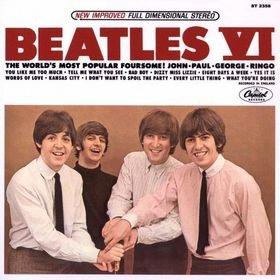 BEATLES beatles VI MINI VINYL CD 1965 POP ROCK