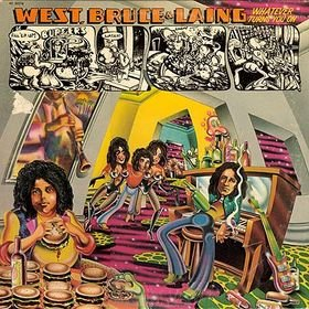 WEST, BRUCE & LAING whatever turns you on MINI VINYL CD 1973 ROCK