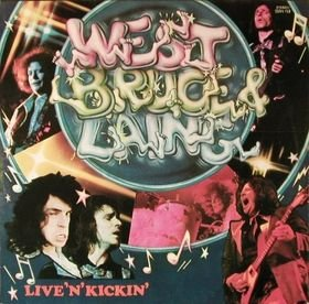 WEST. BRUCE & LAING live'n'kickin' MINI VINYL CD 1974 HARD ROCK