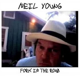 NEIL YOUNG fork in the road DIGIPACK CD 2009 COUNTRY ROCK