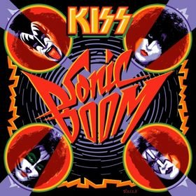 KISS sonic boom 2CD+DVD 2009 HARD ROCK