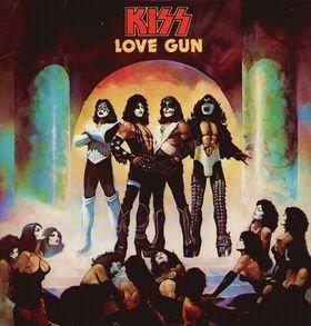 KISS love gun CD 1977 HARD ROCK