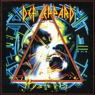 DEF LEPPARD hysteria CD 1987 HARD ROCK