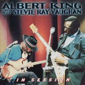 ALBERT KING WITH STEVIE RAY VAUGHAN in session CD 1999 BLUES ROCK