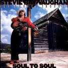 STEVIE RAY VAUGHAN soul to soul CD 1985 BLUES ROCK
