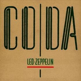 LED ZEPPELIN coda CD 1982 HARD ROCK