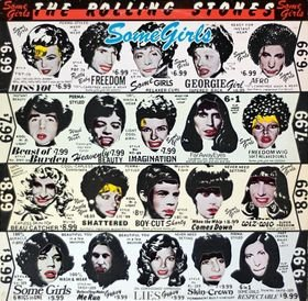 ROLLING STONES some girls CD 1978 ROCK