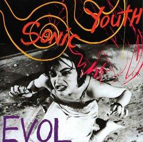 SONIC YOUTH evol CD 1986 ALTERNATIVE ROCK