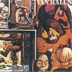 VAN HALEN fair warning CD 1981 HARD ROCK
