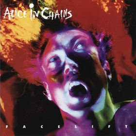 ALICE IN CHAINS facelift CD 1990 GRUNGE
