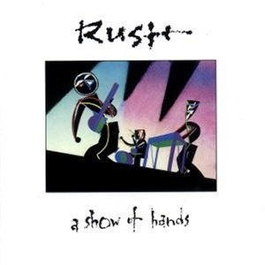 RUSH a show of hands CD 1989 PROGRESSIVE ROCK POP