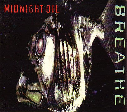 MIDNIGHT OIL breathe CD 1996 AUSTRALIAN SURF MUSIC