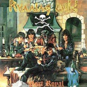 RUNNING WILD port royal CD 1988 HEAVY METAL