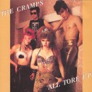 THE CRAMPS all tore up CD ? PSYCHOBILLY