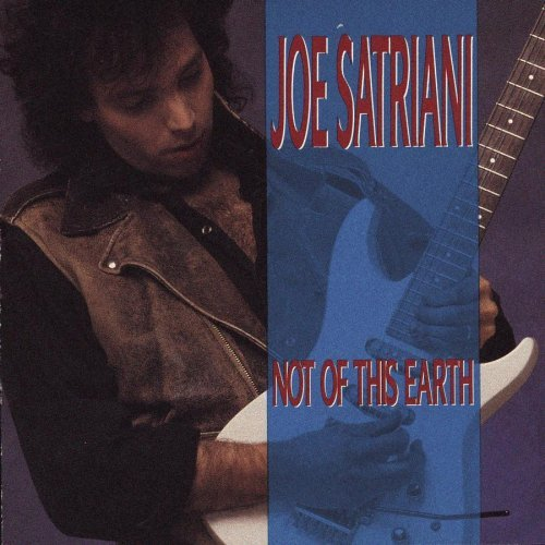 JOE SATRIANI not of this earth / dreaming #11 CD 1986 - 1988 GUITAR BAND