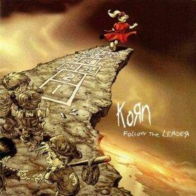 KORN follow the leader CD 1998 NU METAL