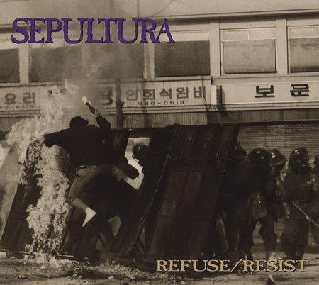 SEPULTURA refuse/resist CD 1994 THRASH METAL