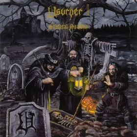 USURPER skeletal season 1999 THRASH BLACK METAL
