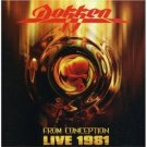 DOKKEN from conception live 1981 CD 2007 HARD ROCK