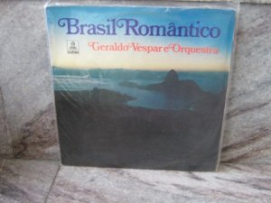 GERALDO VESPAR & ORQUESTRA Brasil Romantico LP 1974 BRAZIL JAZZ