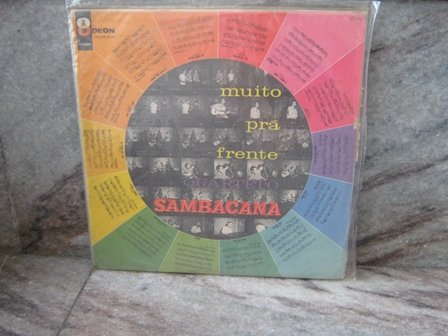SAMBACANA Muito Pra Frente LP 1965 BRAZIL JAZZ MILTON NASCIMENTO
