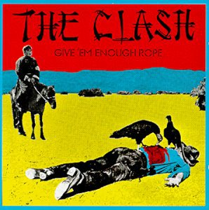 THE CLASH give 'em enough rope CD 1978 PUNK ROCK