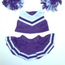 Purple Cheerleader Outfit