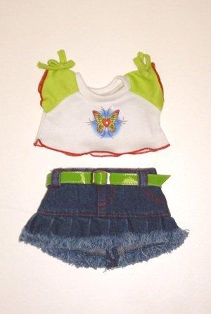 Butterfly T-Shirt & Skirt