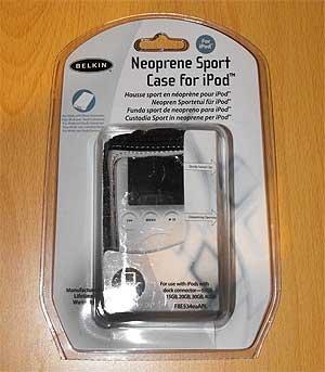 Belkin Neoprene Sport Case for iPod