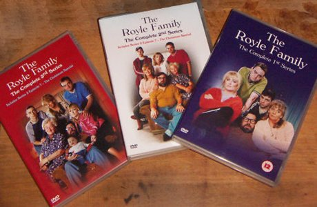 The Royle Family - Series 1, 2 & 3 - DVDs